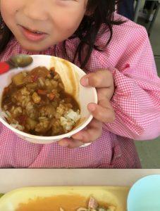 食育写真 女の子